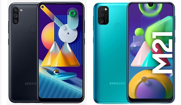 Samsung Galaxy M11 vs M21 comparison