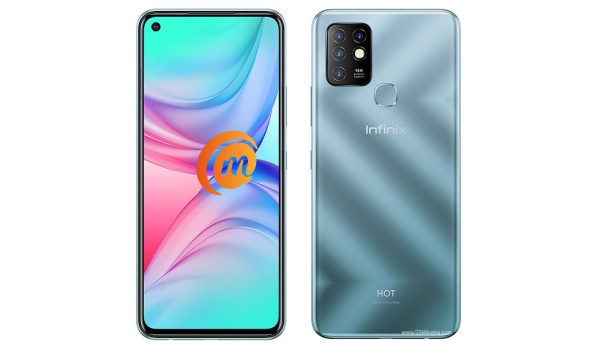 infinix hot 10 front and back