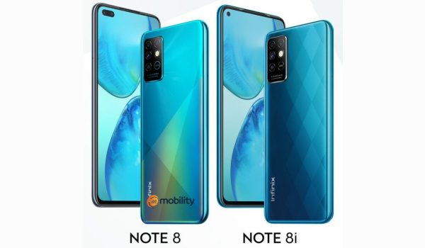 Infinix Note 8, Note 8i Launched