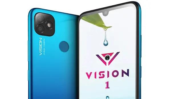 itel Vision 1 Gradient_Blue