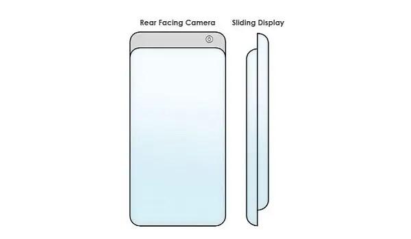 Samsung Galaxy phone with surround display