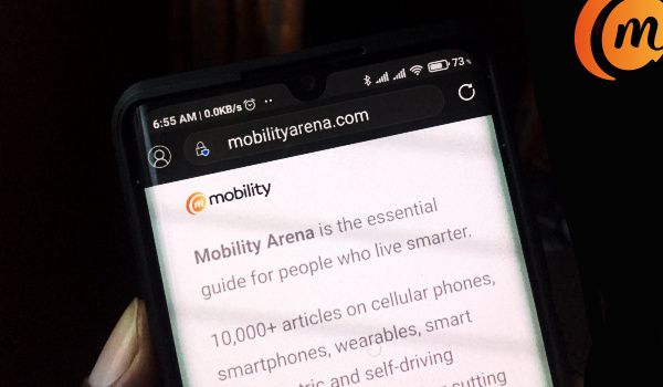 mobility arena mobile-only website