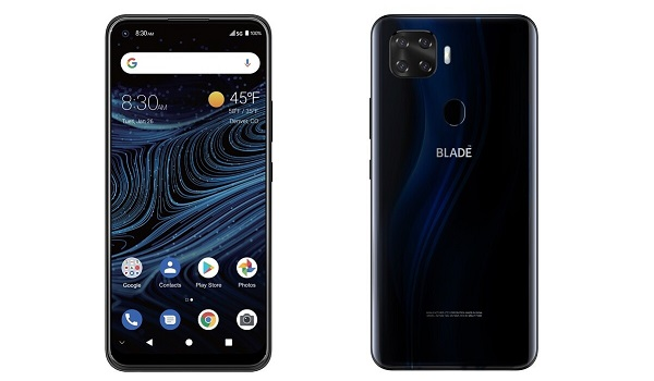 "ZTE Blade X1 5G launched in the US, 2021 Android smartphone, 5G, 6.5"" display, Snapdragon 765G chipset, 6GB RAM, 128GB ROM, 4000mAh battery. Full phone specs and price."