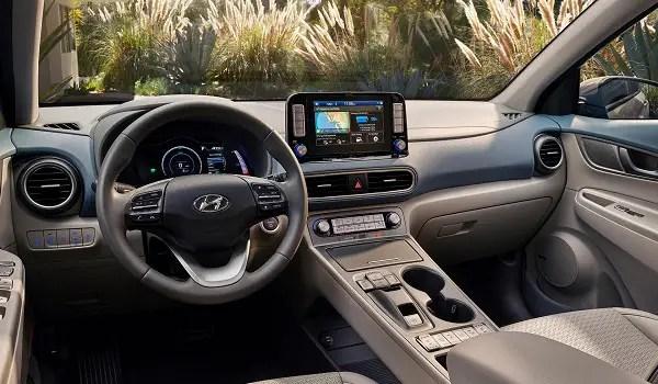 Hyundai Kona EV dash