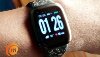 oraimo tempo s smart watch digital face