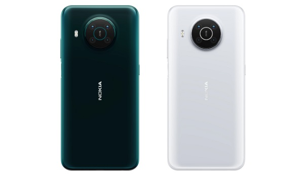 Nokia X10 back colours