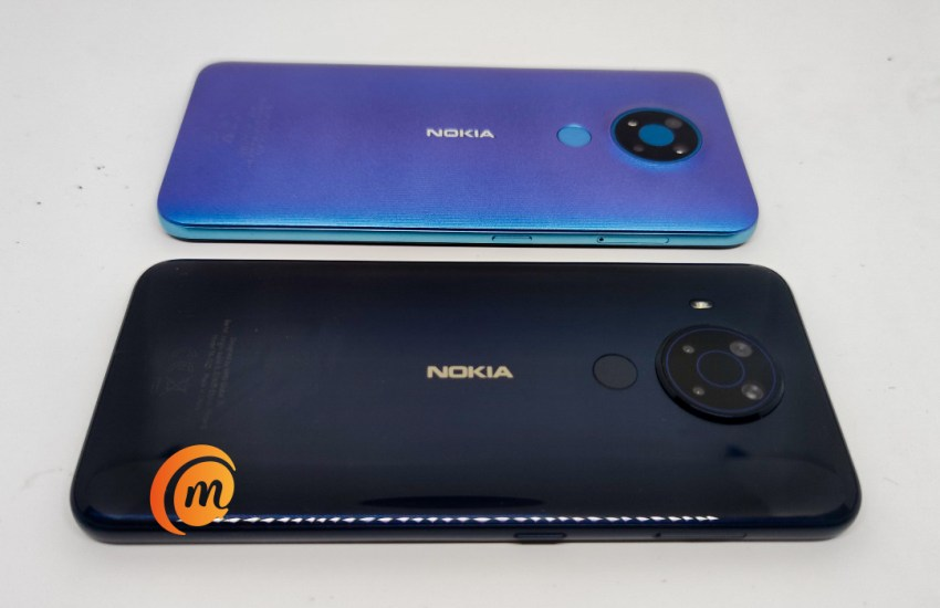 Nokia 3.4 vs Nokia 5.4 back