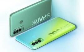 TECNO Spark 7P green