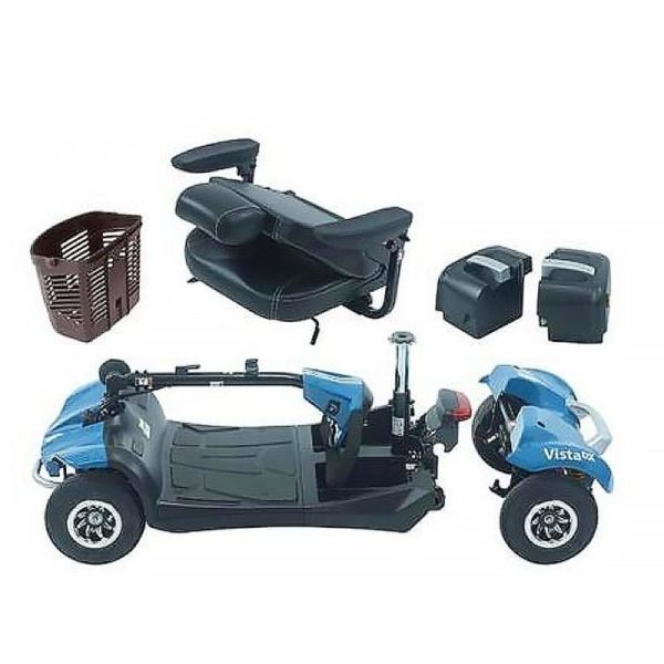 Rascal Victa mobility electric scooter disassembled