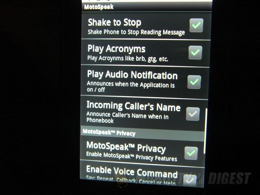 motospeak app blackberry
