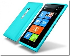 Nokia Cyan Lumia 900