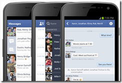 Android Facebook Messenger App Now Includes SMS