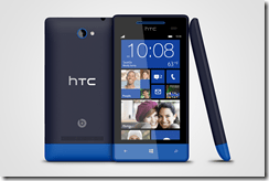 WP 8S by HTC Atlantic Blue 3views