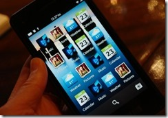 Blackberry 10 to launch with over 70,000 apps