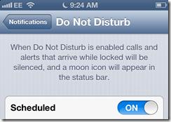 iOS 6 Do Not Disturb bug fix detailed