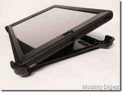 Mobility digest Review OtterBox Defender for iPad Air stand display