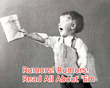 No 930 or is the rumor mill just working overtime