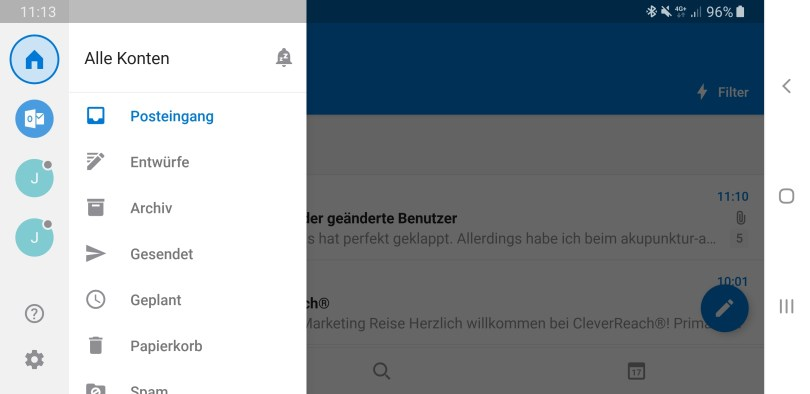 Outlook App Android Synct nicht mehr