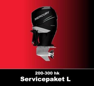 Servicepaket Mercury L6 200-300 hk