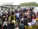 Índios e quilombolas são barrados na entrada do Senado (1º de outubro)