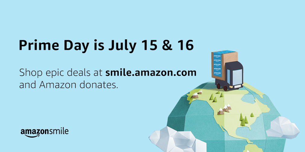 AmazonSmile Donations for Prime Day 2019