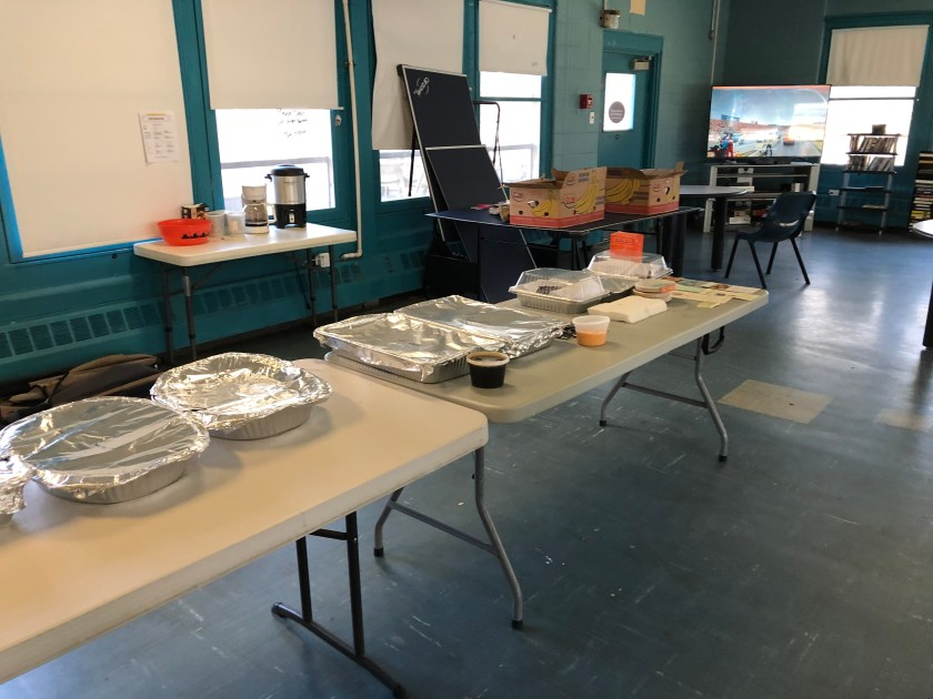 Meatout 2021: SuTao Café food at Coordinated Homeless Outreach Center in Norristown