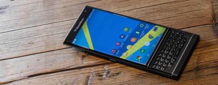 BlackBerry Priv mobil telefon