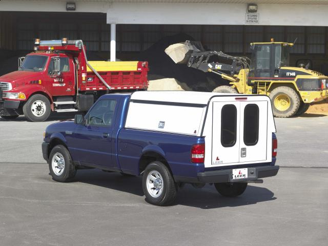 Leer Dcc Cab High Commercial Shell Mobile Living Truck