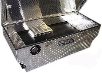 Tool Box And Fuel Tank Combo Mobile Living Truck And