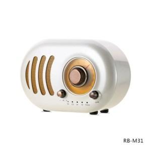 Bluetooth zvucnik Remax Retro RB-M31 beli