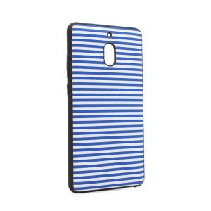 Maska Luo Stripes za Nokia 2.1 2018 plava