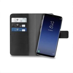 Maska Puro novcanik 2u1 za Samsung G965 S9 Plus crna