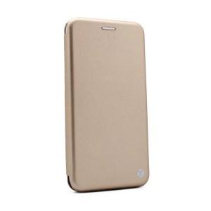 Maska Teracell Flip Cover za Motorola Moto E6 Plus zlatna