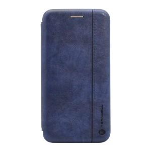 Maska Teracell Leather za Nokia 3.2 plava