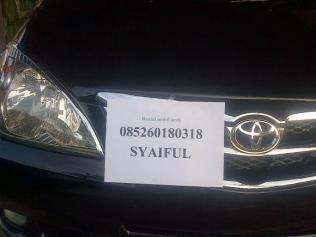 rental mobil Aceh FRC 085260180318