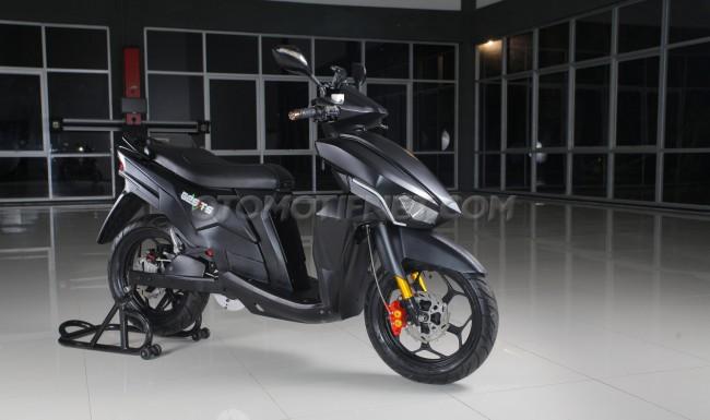 gambar motor listrik indonesia gesits