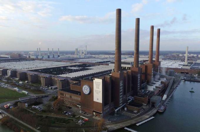 gambar pabrik vw di Jerman