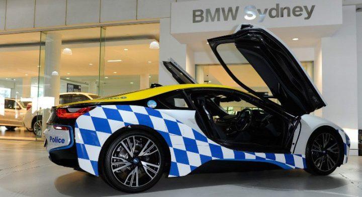 mobil polisi bmw