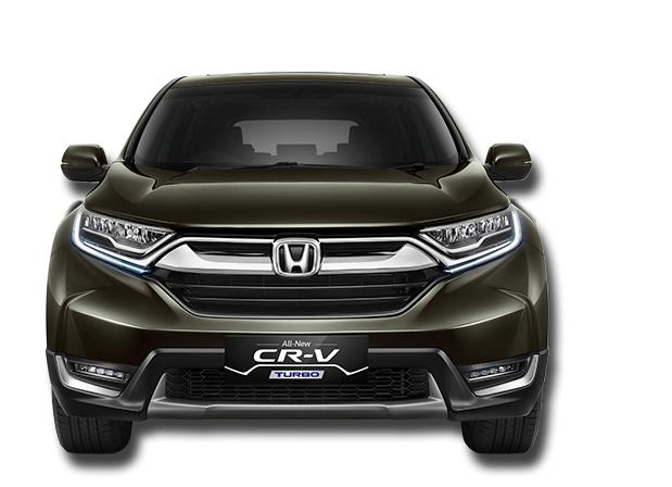 Desain Depan All New Honda CRV Turbo