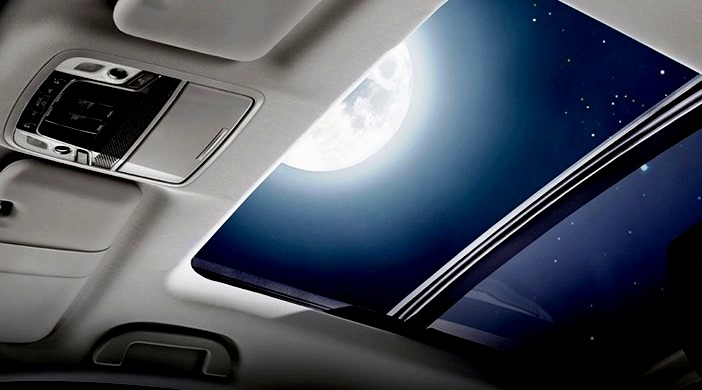gambar panoramic sunroof all new honda crv