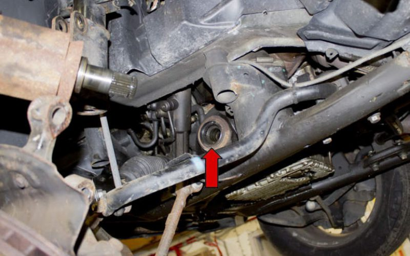 Kebocoran Oli Pada Toyota Alphard