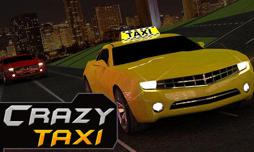 Crazy Taxi Driver Rush Cabbie Poster