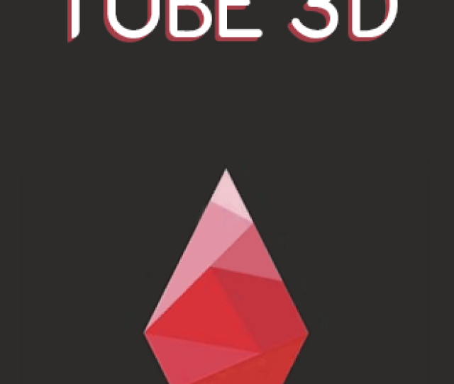 Red Tube D Poster