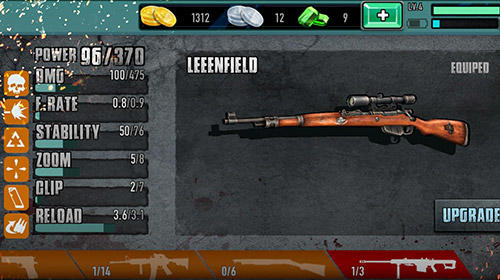 Download Zombie sniper 3D shooting game: The killer Android free game.
