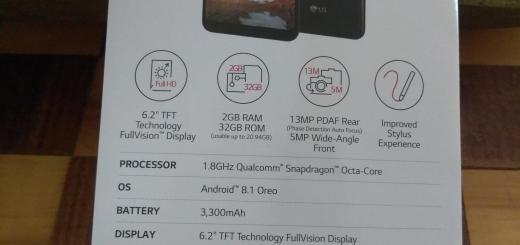 LG Stylo 4 image leaked