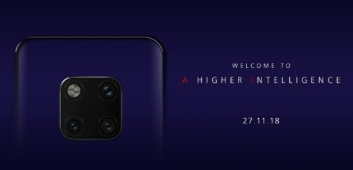 Huawei Mate 20 Pro invite releases