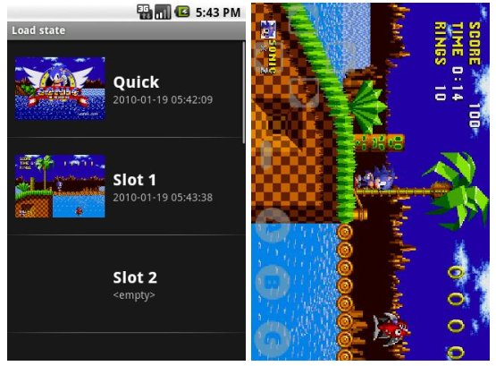 Gensoid Sega Genesis emulator pulled from the Android Market