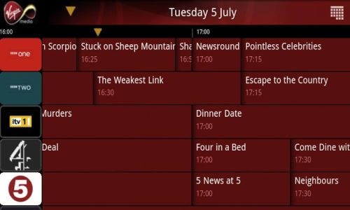 Virgin Media TV Guide