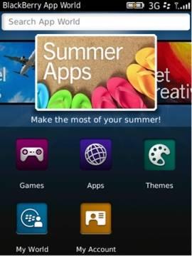 BlackBerry App World 3.0 beta