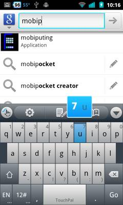 TouchPal 4.8.1 keyboard for Android